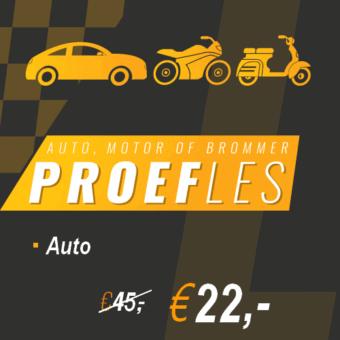 proefles auto-a