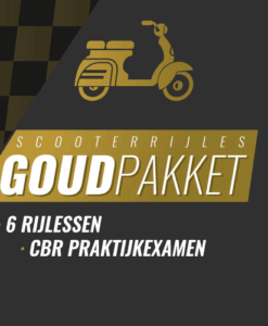 scooter goud pakket