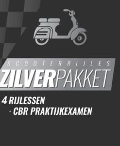 scooter zilver pakket