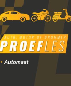 proefles automaat